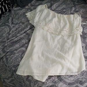 O'Neill One shoulder linen dress size small